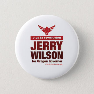 Bóton Redondo 5.08cm Botão 1 de Jerry Wilson