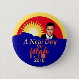 Bóton Redondo 5.08cm Botão 2018 do Senado de Mitt Romney