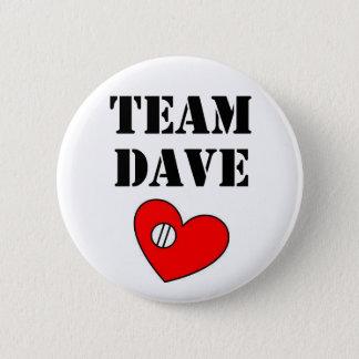 Bóton Redondo 5.08cm Botão 2 de Dave da equipe