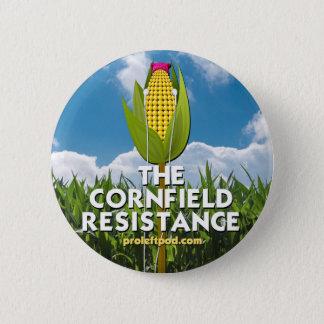 Bóton Redondo 5.08cm Botão - a resistência do campo de milho