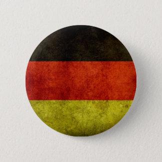 Bóton Redondo 5.08cm Botão alemão da bandeira do Grunge