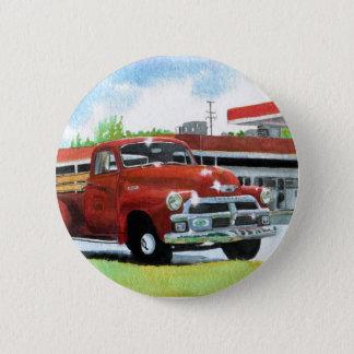 Bóton Redondo 5.08cm Botão antigo do caminhão 1954