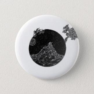 Bóton Redondo 5.08cm Botão artística