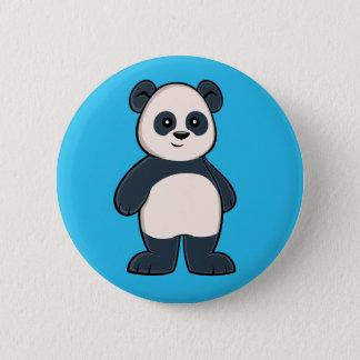 Bóton Redondo 5.08cm Botão bonito da panda dos desenhos animados