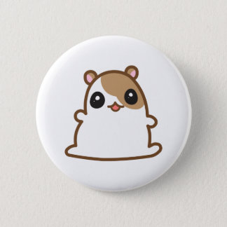 Bóton Redondo 5.08cm Botão bonito do hamster