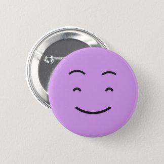 Bóton Redondo 5.08cm Botão bonito do smiley