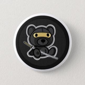 Bóton Redondo 5.08cm Botão bonito do urso de ursinho do guerreiro do