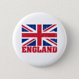 Bóton Redondo 5.08cm Botão britânico da bandeira de Union Jack