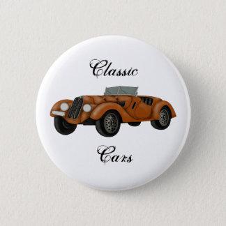 Bóton Redondo 5.08cm Botão clássico do carro