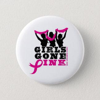 Bóton Redondo 5.08cm Botão cor-de-rosa ido meninas