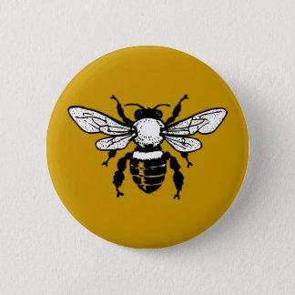 Bóton Redondo 5.08cm Botão da abelha de Mellifera dos Apis