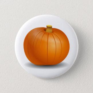 Bóton Redondo 5.08cm Botão da abóbora de outono