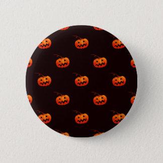 Bóton Redondo 5.08cm Botão da abóbora do Dia das Bruxas