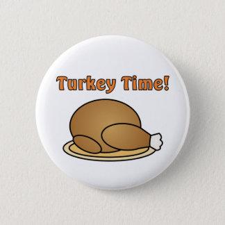 Bóton Redondo 5.08cm Botão da acção de graças do tempo de Turquia