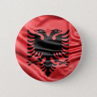 Bóton Redondo 5.08cm Botão da bandeira de Albânia