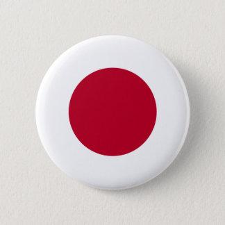 Bóton Redondo 5.08cm Botão da bandeira de Japão