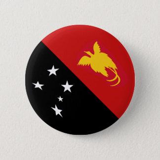 Bóton Redondo 5.08cm Botão da bandeira de Papuá-Nova Guiné Fisheye