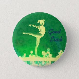 Bóton Redondo 5.08cm Botão da boa sorte do Gymnast