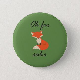 Bóton Redondo 5.08cm Botão da causa do Fox
