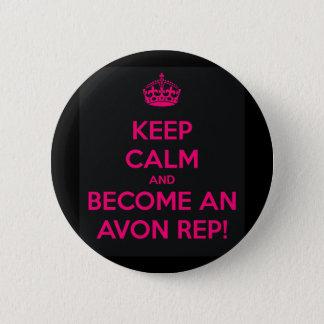 Bóton Redondo 5.08cm Botão da conversação de Avon