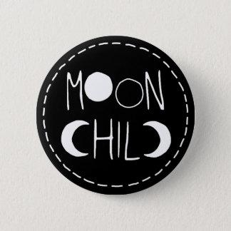 Bóton Redondo 5.08cm Botão da criança de lua