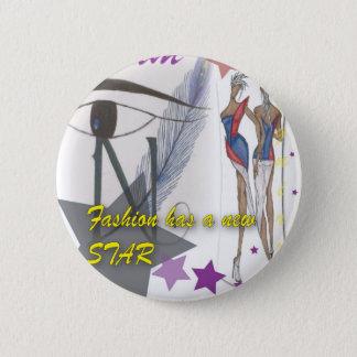 Bóton Redondo 5.08cm Botão da forma