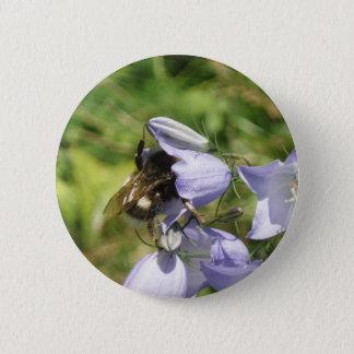 Bóton Redondo 5.08cm Botão da foto da flor do zangão