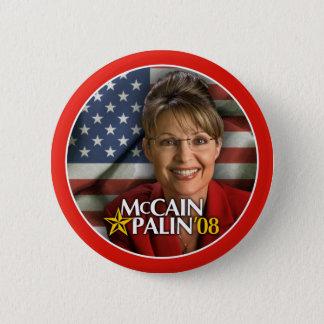 Bóton Redondo 5.08cm Botão da foto de Sarah Palin