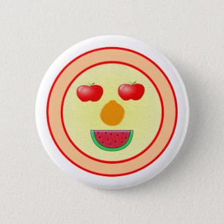 Bóton Redondo 5.08cm Botão da fruta