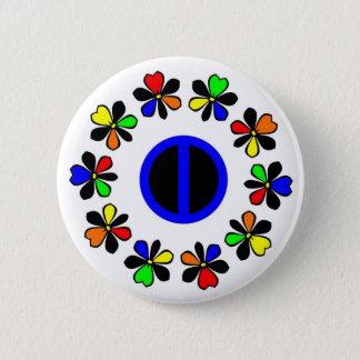 Bóton Redondo 5.08cm Botão da igualdade
