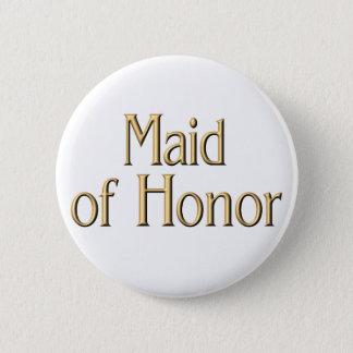 Bóton Redondo 5.08cm Botão da madrinha de casamento