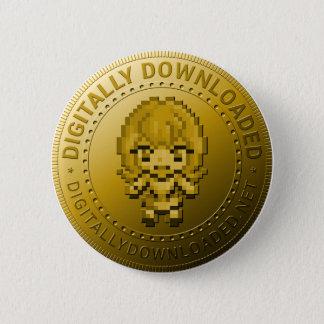 Bóton Redondo 5.08cm Botão da moeda de DDNet