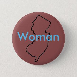 Bóton Redondo 5.08cm Botão da mulher de NJ