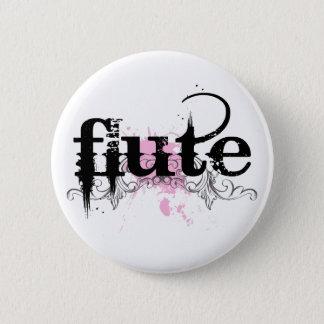 Bóton Redondo 5.08cm Botão da música da flauta do Grunge