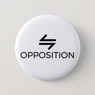 Bóton Redondo 5.08cm Botão da oposição