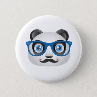 Bóton Redondo 5.08cm Botão da panda do hipster
