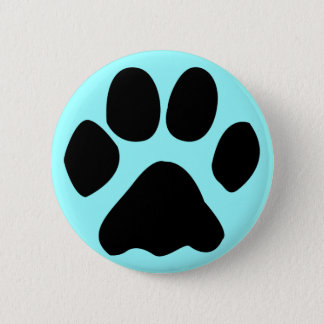 Bóton Redondo 5.08cm botão da pata do gato