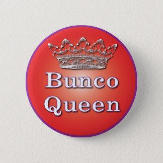 Bóton Redondo 5.08cm botão da rainha do bunco
