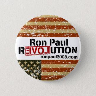 Bóton Redondo 5.08cm Botão da revolução de Ron Paul
