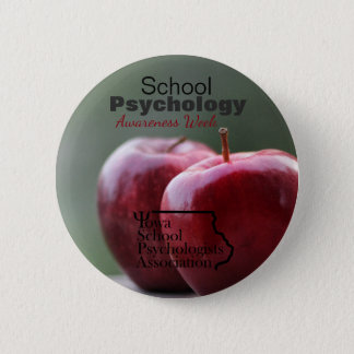 Bóton Redondo 5.08cm Botão da semana da consciência da psicologia da