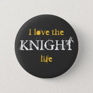 Bóton Redondo 5.08cm Botão da vida do cavaleiro