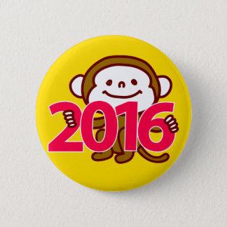 Bóton Redondo 5.08cm Botão de 2016 macacos