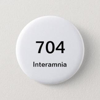 Bóton Redondo 5.08cm Botão de 704 Interamnia