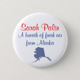Bóton Redondo 5.08cm Botão de Alaska da lufada de ar fresco de Sarah