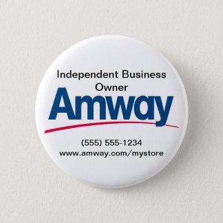 Bóton Redondo 5.08cm Botão de Amway