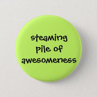 Bóton Redondo 5.08cm Botão de Awesomeness