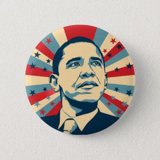 Bóton Redondo 5.08cm Botão de Barack Obama Pinback