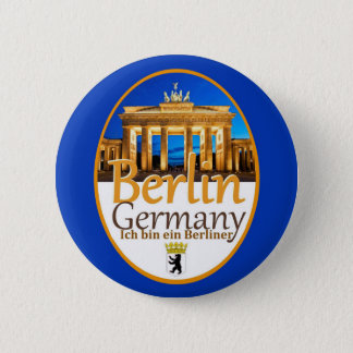 Bóton Redondo 5.08cm Botão de BERLIM