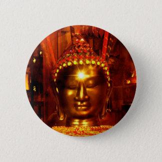 Bóton Redondo 5.08cm Botão de Buddha da meditação