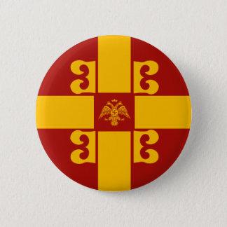 Bóton Redondo 5.08cm Botão de Byzantium